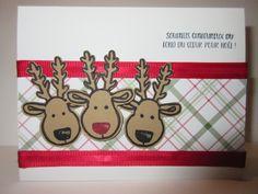 SU - Kit emporte-pièce de Noël - avec le petit renne au nez rouge...  Noël 2016 - France
