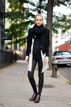 ストリートスナップ [Dorothea] | Acne, vintage | ニューヨーク | Fashionsnap.com