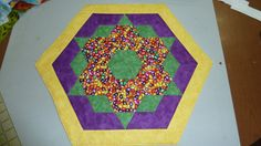 Easter Table Mat  Finished and Quilted by Quiltbuilders on Etsy