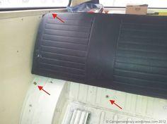 vw t2 seat belt mounting points - Google Search
