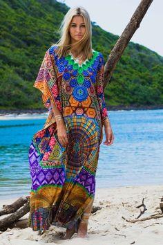 Globetrotter by Ruby Yaya Congo Maxi Dress - Womens Maxi Dresses at Birdsnest Women's Clothing Women's Summer Fashion, Boho Fashion, Style Fashion, Chambray Outfit, Style Bobo Chic, Moda Hippie, Maxi Robes, Maxi Dresses, Estilo Hippy