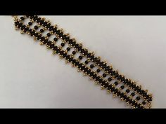 Black Pearl Beaded Bracelet 💎 - Famous Last Words Beaded Bracelets Tutorial, Beaded Bracelet Patterns, Seed Bead Bracelets, Handmade Bracelets, Black Bracelets, Colorful Bracelets, Bead Patterns, Jewelry Bracelets, Beaded Jewelry Designs