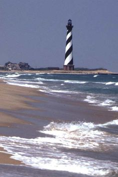Many happy hours spent with my children on this beach. Nc Lighthouses, Beautiful Buildings, Beautiful Places, Cape Hatteras Lighthouse, Lighthouse Pictures, Scenic Photography, Landscape Photography, Ocean Pictures, Light Of The World