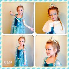 Elsa inspired kids costume and makeup Frozen Kids, Elsa Frozen, Girls Dresses, Flower Girl Dresses, Inspiration For Kids, Costumes, Inspired, Halloween, Wedding Dresses