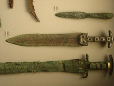 Ancient Greek Bronze Swords Mycenaean swords