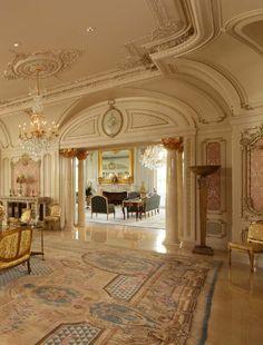 Mansion Interior, Dream House Interior, Dream Home Design, My Dream Home, Beautiful Architecture, Architecture Design, Classical Architecture, Luxury Home Decor, Luxury Homes