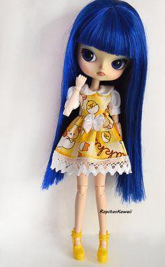 Vestido para muñeca Dal y Byul con cuerpo de stock 4. de RopitasKawaii en Etsy