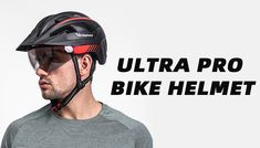 Perfect Combination of Goggles, Visor & Helmet; Magnetic Goggles + Sun Visor, Strongest Protection That You Ever Had; Pro Bike, Bicycle Helmet, All In One, Strong, Led, Cycling Helmet