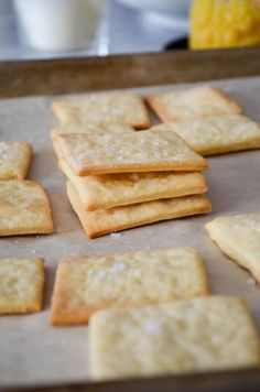 Homemade Saltine Crackers – In Jennie's Kitchen