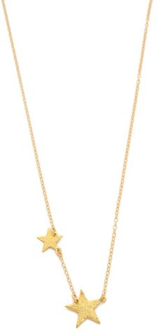 Cutest star necklace.