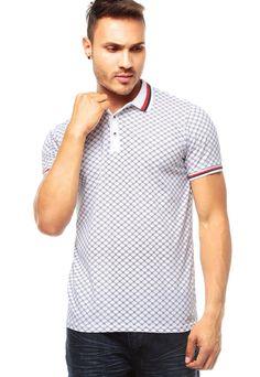 77f087ce56 Camiseta Polo Blanca DENIM REPUBLIC. Camisetas PoloPolosAhoraComprasColombia