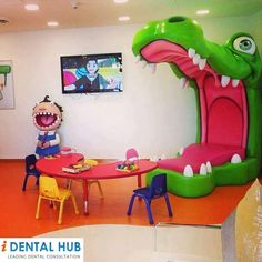 Dental Kids Clinic for their Fun - www.identalhub.com