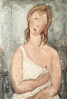 Ragazza con la Maglia, Amedeo Modigliani