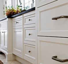 Popular Kitchen Cabinet Paint Color. Kitchen. Cabinet Paint Color: Benjamin Moore White Dove