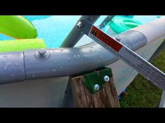 Above ground pool. Above Ground Pool, In Ground Pools, Intex Pool, Two Year Olds, The 4, Patio, Youtube, Diy, Pools