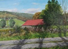 Buy Red Barn In Autumn by Eugene Conway at Gormleys Fine Art gallery. Leading dealers in Irish art since 1990.