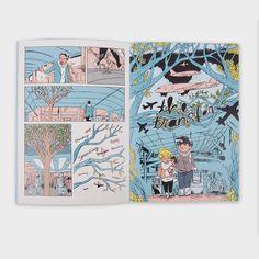 Comic Book Artists, Comic Books, Emma Evans, Short Comics, Transitional Decor, Super Happy, Airports, Zine, Painted Furniture