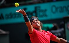 The so-far unbeatable Rafael Nadal gets past David Ferrer in three sets, 6-2, 6-2, 6-1. Now the only question is whether he can win one more match to become this year's French Open champion.