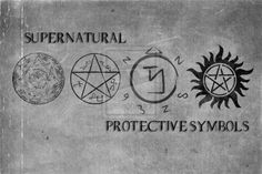 Supernatural Protective symbols - donnae' knock it... It's the faith in the thing that gives it the batteries to work... Just make sure you do research and development first...