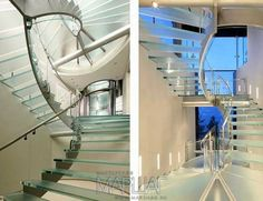 Лестницы из стекла Маршаг