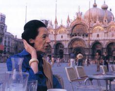 Diana Vreeland in Venice, 1973