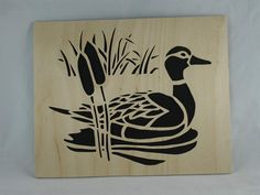 If you or someone you know is a nature loving person then this duck scene wall art home decor wood portrait is perfect for you or that special