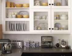 Image result for open plate shelving kitchen