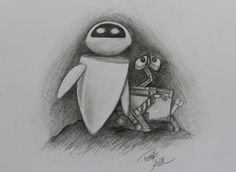 Wall-E and Eve by Patrick [©2012]