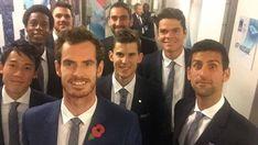 選ばれしテニスエリート8人がロンドンに集結!!錦織以外巨人でワロタ : スマッシュ速報