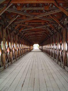 Covered Bridge - By skylinejunkie