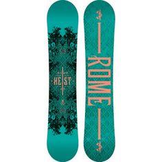 ROME HEIST 2014 Snowboard WOMENS 146 NEW
