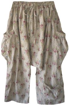 Magnolia Pearl: Clay rose print cotton Gertie Pants