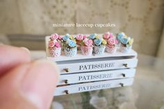 2017.12 Miniature Lacecup Cupcakes ♡ ♡ By Pansbear