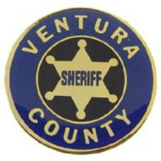 """Ventura County Sheriff Pin 1"""" by FindingKing. $8.99. This is a new Ventura County Sheriff Pin 1"""""""