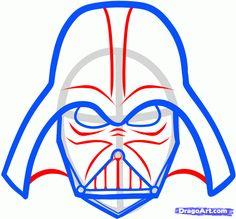 how to draw lego star wars step by step