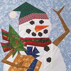 Free Paper Doll Quilt Pattern Free | Free snowman quilt patterns and snowman wall hangings.