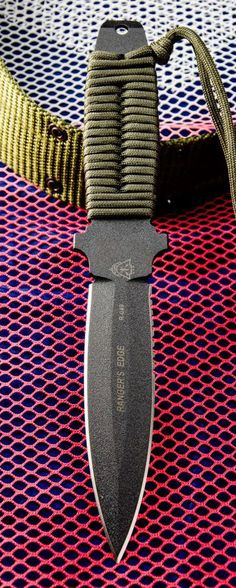 Tops Knives Ranger's Edge Tactical Fixed Knife Blade with High Carbon Steel