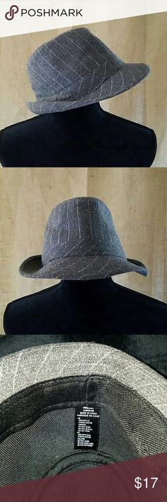Fedora hat wool bland gray Fedora hat wool bland gray unbranded  Accessories Hats