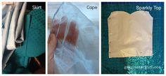diy elsa costume  | Disney Frozen Elsa Dress Materials