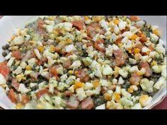 ENSALADA DE LENTEJAS - Falsarius Chef - YouTube