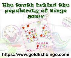Bingo game is not a recent craze among the people but it has started since the past day to play the game and win a good amount of money through it. By playing this very game, one can simply have a fun filled experience and obviously with a chance of winning a good amount.