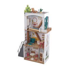 Wooden Dollhouse Kits, Dollhouse Dolls, Rowan, Rooftop Terrace, Buy Buy Baby, Pottery Barn Kids, Crates, Kids Toys, Storage