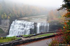 Middle Falls, NY, USA - Amazing places - For further information, a map, & photos: http://www.amazingplacesonearth.com/