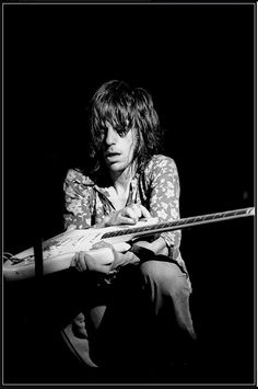 Jeff Beck. Come on over and bring your guitar hot.