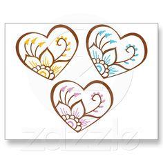 Henna hearts + lotus graphics