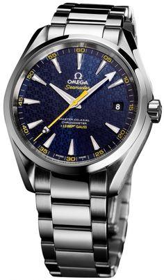 Limited Edition: Omega Seamaster Aqua Terra James Bond Spectre Watch