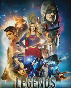 Legends #Arrow #TheFash #Supergirl #LegendsOfTomorrow Superheroes