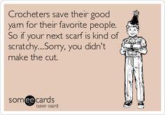 Crochet Addict's Humor....