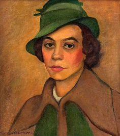 Florence In A Green Hat - Ruth Alsobrook