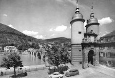 Heidelberg old bridge Bridge, Heidelberg, Bridge Pattern, Bridges, Attic, Bro